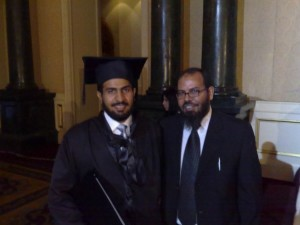 with Dr. Ahmad alkholaify